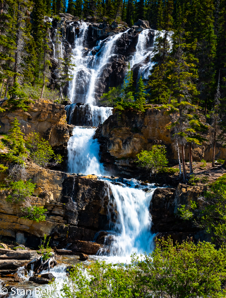 Waterfalls on the Icefields Parkway
