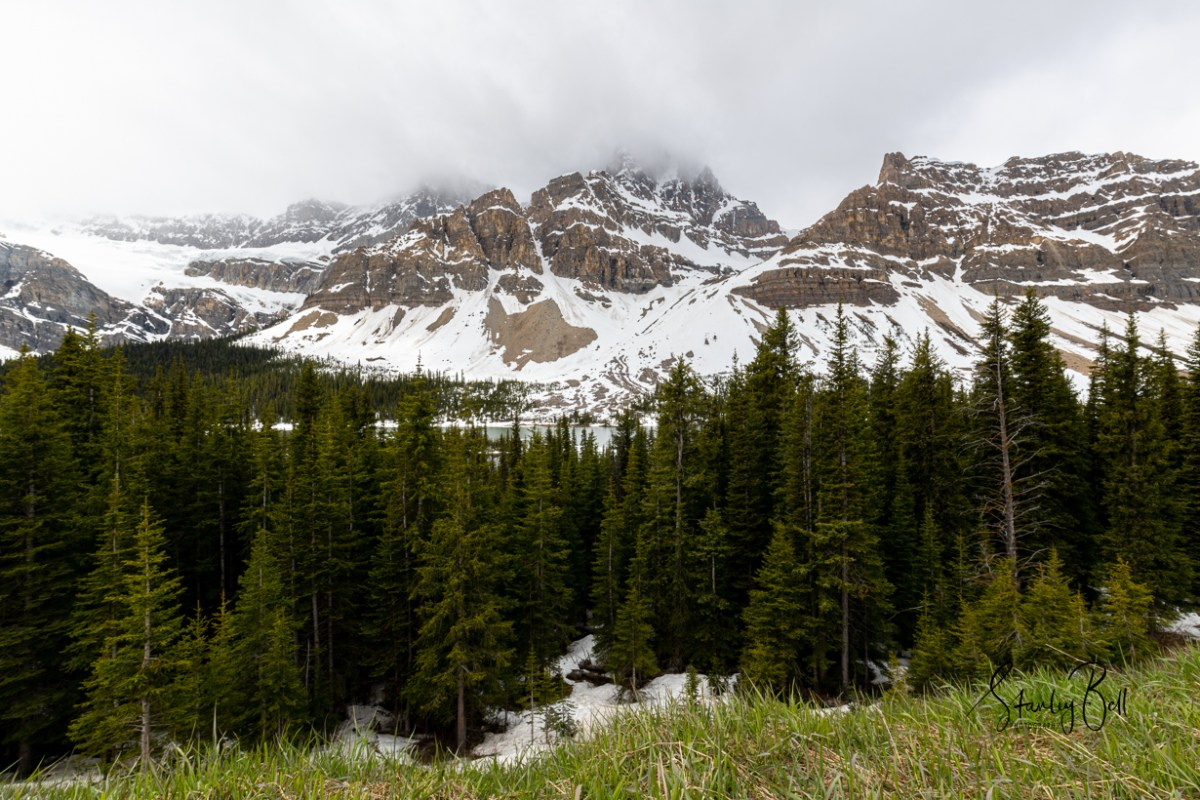Icefields Parkway in Early June 1