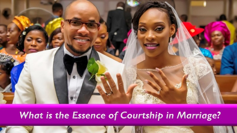 What is the Essence of Courtship in Marriage?