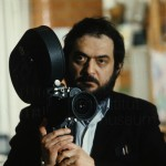Stanley Kubrick am Set von A Clockwork Orange