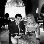 Stanley Kubrick und Sue Lyon (Publicity Still zum Film Lolita)