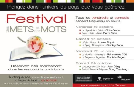 Festival des Mets et des Mots (FMM)