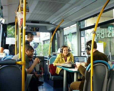 Passager à bord du Bus Magique
