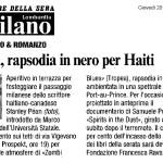 Zombi Blues dans Corriere della Sera