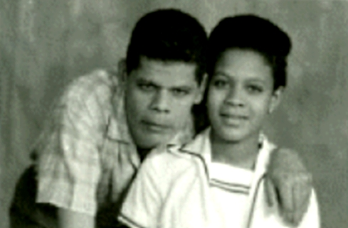 Maurice «Mèt Mo» Péan et sa fille Mie-Jo
