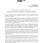 MAL_Communiqué budget 2011-1