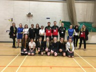 Players promote Girls BTEC Course
