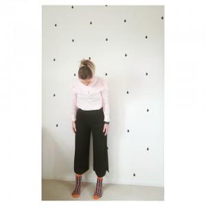 Alexa Chung Harry blouse