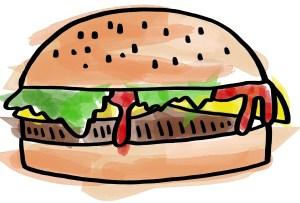 Burger, big mac