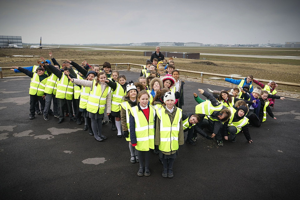 Primary pupils ready for launch into cool world of aeronautics