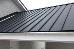 Black Metal Roof Longview TX