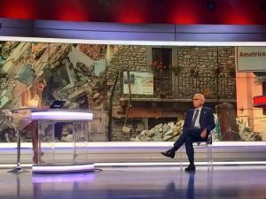 Antonio D'Intino negli studi di Sky Tg24