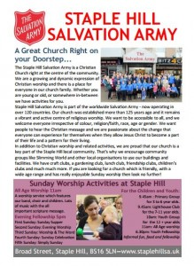 Outreach Leaflet