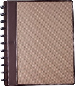 Staples     Arc Customizable Woven Preassembled Notebook  Letter Size     https   www staples 3p com s7 is