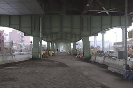 Underneath the Gowanus today.