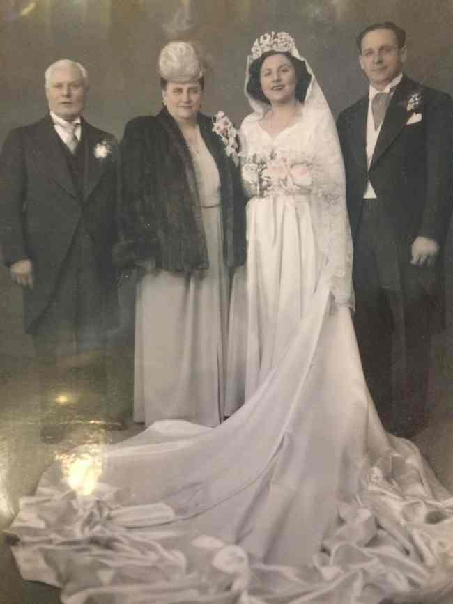 A 1946 Carroll Gardens Wedding