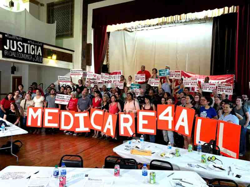 Medicare for All topic of Brooklyn's People's Assembly - Red