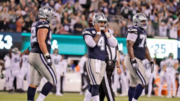 Panic time! Dallas Cowboys playing for survival after loss to lowly New York Jets.