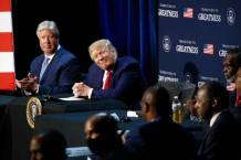 WATCH: Donald Trump Holds Roundtable Discussion on Race, Police at Pastor Robert Morris' Gateway Church in Dallas