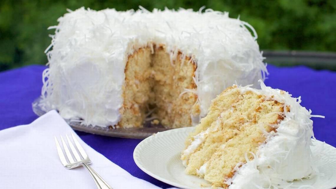 Recipe Easter Cake Coconut