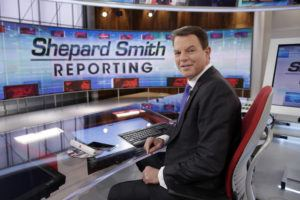 "ASSOCIATED PRESS                                 Fox News Channel chief news anchor Shepard Smith appeared on the set of ""Shepard Smith Reporting,"" in Jan. 2017, in New York. Smith, whose newscast on Fox News Channel seemed increasingly an outlier on a network dominated by supporters of President Trump, said he is leaving the network."