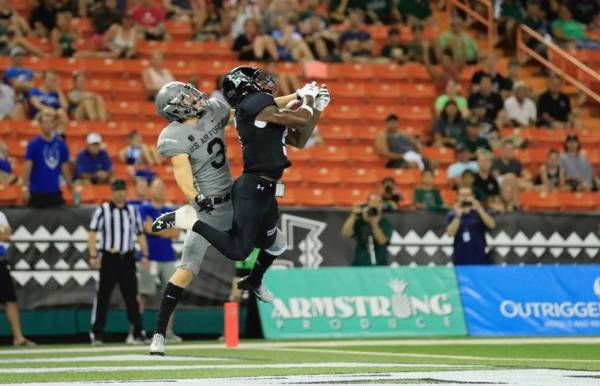 Air Force takes command in rout of Hawaii football