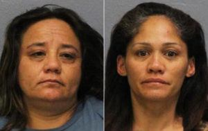 HAWAII COUNTY POLICE                                 Crystal Botelho, 40, left, and Nani Jo Keanini, 44, both of Honokaʻa.