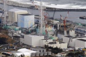 ASSOCIATED PRESS                                 Three melted reactors, from left, Unit 1, Unit 2 and Unit 3 at Fukushima Dai-ichi nuclear power plant in Okuma, Fukushima prefecture, Japan, in 2012.