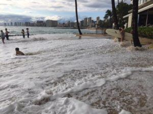 COURTESY HAWAII SEA GRANT KING TIDES PROJECT