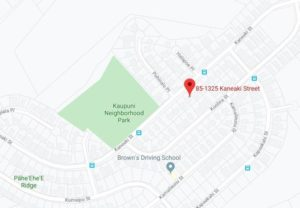 GOOGLE MAPS                                 Police are seeking the public's help in locating the driver in a Dec. 26 hit-and-run crash fronting 85-1325 Kaneaki St. in Waianae that injured a 14-year-old boy.