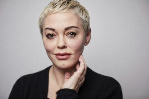 "ASSOCIATED PRESS                                 Rose McGowan poses for a portrait in New York. McGowan's says her tweet that apologized on behalf of the U.S. to Iran for ""disrespecting their flag and people"" wasn't anti-American. Her tweet Friday came after a U.S. airstrike killed Iran's top general and has been widely criticized."