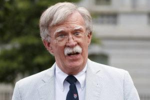 ASSOCIATED PRESS                                 Then national security adviser John Bolton spoke to media, July 31, at the White House in Washington. Bolton said he's 'prepared to testify' in Senate impeachment trial if subpoenaed.