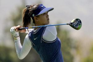 ASSOCIATED PRESS                                 In this April 5, 2019, file photo, Michelle Wie watches her tee shot on the 118th hole during the second round of the LPGA Tour ANA Inspiration golf tournament at Mission Hills Country Club in Rancho Mirage, Calif. Wie is expecting her first child — a girl — this summer. The often-injured golfer announced the news Thursday on Instagram. She married Jonnie West, the son of NBA great Jerry West, in August.