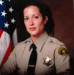 ASSOCIATED PRESS                                 This undated photo released by the Los Angeles County Sheriff's Office shows Detective Amber Leist. Leist, 41, was off duty when she was struck and killed by a car after she helped an elderly woman cross a street in Los Angeles Sunday, Jan. 12, 2020, authorities said. She died at a hospital, Los Angeles County Sheriff Alex Villanueva said. Leist, a 12-year veteran of the department, was assigned to the West Hollywood station.