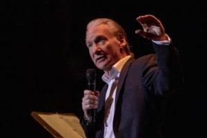 COURTESY RICK BARTALINI PRESENTS                                 Bill Maher entertained the crowd at his New Yearʻs Eve show at the Neal S Blaisdell Concert Hall.