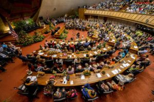 STAR-ADVERTISER / JAN. 2019                                 The Hawaii House of Representatives on opening day of 2019.