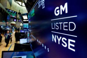 ASSOCIATED PRESS                                 The logo for General Motors appeared above a trading post, in April 2018, on the floor of the New York Stock Exchange. The average 401(k) balance rose 17% last year to $112,300 from the end of 2018, according to a review of 17.3 million accounts by Fidelity Investments.