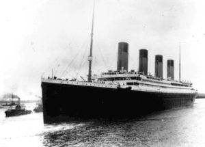 ASSOCIATED PRESS                                 The Titanic leaves Southampton, England on her maiden voyage in 1912. The salvage firm that has plucked artifacts from the sunken Titanic cruise ship over the decades is seeking a judge's permission to rescue more items from the rapidly deteriorating wreck.