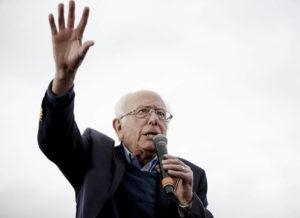 AUSTIN AMERICAN-STATESMAN VIA AP                                 Democratic presidential candidate Sen. Bernie Sanders, I-Vt., speaks during a campaign event on Sunday in Austin, Texas.