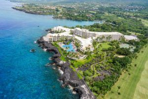 MARRIOTT                                 Outrigger is buying Sheraton Kona Resort & Spa at Keauhou Bay. The company, which also intends to manage the property, will rename it Outrigger Kona Resort and Spa