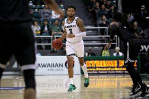 ANDREW LEE / FEB. 12                                 Hawaii's Eddie Stansberry scored 19 points.