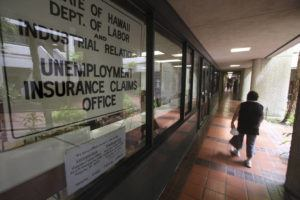 """STAR-ADVERTISER                                  Hawaii Department of Labor & Industrial Relations are """"strongly suggesting"""" that people filing for unemployment benefits through their website."""