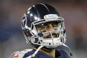 ASSOCIATED PRESS / NOV. 24                                 Marcus Mariota, who is a free agent, lost his starting job this year to Ryan Tannehill, who just received a four-year, $118 million contract.
