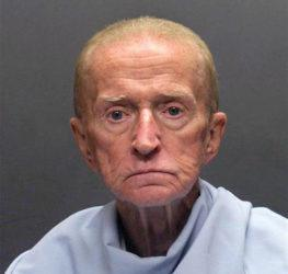 TUCSON POLICE DEPARTMENT VIA AP / 2018                                 The Tucson Police Department shows Robert Francis Krebs, who has a decades-long criminal record for stealing from banks. The 82-year-old was convicted Wednesday, March 4, 2020, on a federal armed bank robbery charge in the January 2018 holdup of a credit union in Tucson, Ariz.