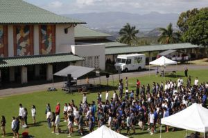 JAMM AQUINO / NOV. 25 Spring break was originally scheduled to begin March 23 and run through April 6 at Kamehameha.