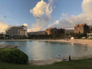 GEORGE F. LEE / GLEE@STARADVERTISER.COM The Ko Olina and Aulani resorts will close on Tuesday.