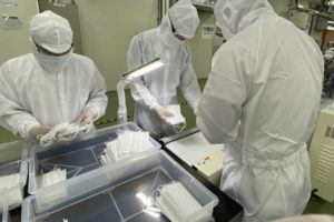 ASSOCIATED PRESS                                 Surgical masks are being produced around the world as demand intensifies.