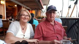 COURTESY PAUL AND KAREN GREENSLADE                                 Paul and Karen Greenslade, of the United Kingdom, both tested positive for COVID-19. Paul Greenslade is recovering at a friend's home in Hawaii Kai after spending three weeks in the hospital for treatment for the disease.