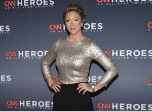 EVAN AGOSTINI/INVISION/ASSOCIATED PRESS                                 CNN news anchor Brooke Baldwin at the 11th annual CNN Heroes: An All-Star Tribute, in Dec. 2017, at the American Museum of Natural History in New York. Baldwin says she's tested positive for the coronavirus.