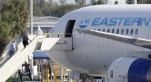 ASSOCIATED PRESS                                 Passengers that came off the cruise ship Rotterdam Thursday, board a charter plane at Fort Lauderdale–Hollywood International Airport, today.